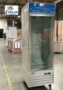 New Commercial One Glass Door Freezer Model D368bmf single Cooler Nsf Etl