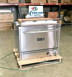 Commercial Stone Base Pizza Oven Bakery Pizzeria Cooker Wings Nsf Ss Nat Gas 36