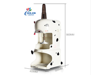 New Commercial Ice Shaver Machine Shaved Ice Cube Snow Cone model Si1