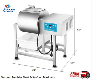 New Vacuum Meat Seafood Tumbler Marinator Mixer Machine S s Commercial Use