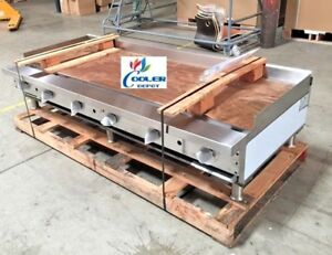 New 72 Manual Griddle Flat Top Grill Gas 6 Stratus Smg 72 2897 Commercial Nsf
