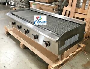 Nsf 60ins Heavy Duty Radiant Broiler Cd rb60 grill Shawarma Restaurant Equipment