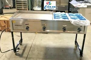 New 65 Taco Griddle Carts Heavy Duty Stainless Steel Propane Type Model G36w21