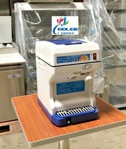 New Ice Cube Shaver Si21 commercial Shaved Ice Machine Shaver Snow Cone cocktail