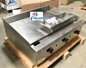 Nsf 36 Ins Toastmaster Griddle Cd tg36 propane Gas Restaurant Equipment