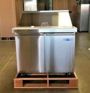 New 36 Commercial Mega Top Refrigerator Model Sclm2 36 Nsf Sandwich Salad Etc