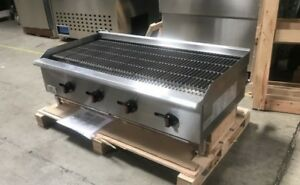 Nsf 48 Radiant Broiler Cd rb48 radiant Grill Shawarma Restaurant Equipment