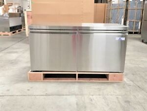New 60 Under Counter Refrigerator 15 Cu Ft Cooler Depot tuc60r Undercounter
