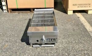 New Ideal 12 X 29 Heavy Duty Stainless Steel Commercial Broiler Made In Usa