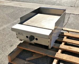 New Ideal 18 X 29 Heavy Duty Stainless Steel Commercial Griddle Flat Grill Usa