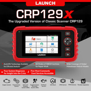 Launch Creader Cr9081 Obd2 Auto Scanner Code Reader Tool Abs Oil Epb Immo Tpms