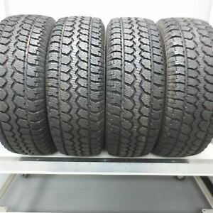 255 70r17 Mastercraft Courser Msr 112s Tire 14 32nd Set Of 4 No Repairs