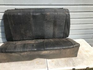 1964 1965 1966 1967 Chevelle Gto Cutlass Lemans Convertible Rear Seat