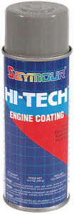6 Cans Of Seymour En 43 Hi tech Engine Paint Ford Gray