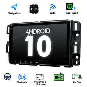 Android 10 Car Stereo Gps For Chevrolet Gmc I Radio 8 Wifi 4g In Dash Headunit