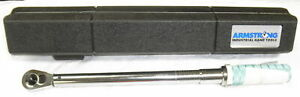 Armstrong 1 2 Torque Wrench With Case 64 086 50 250 Ft Lbs 5120 01 042 0982