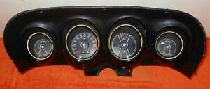 1969 Mustang Fastback Boss Coupe Convertible Orig Dash Gauge Instrument Cluster