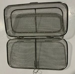 Stainless Steel Wire Instrument Washer Tray Dimensions 10x5x1 In
