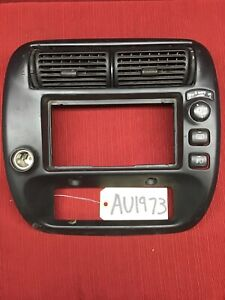 1995 2001 Ford Explorer Black Radio Heater A C Control Dash F67b 7804302 Bw