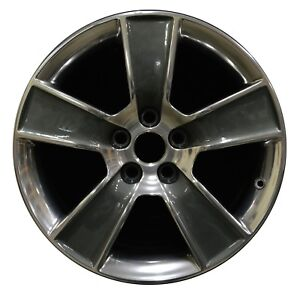 18 Ford Mustang 2006 2007 2008 2009 Factory Oem Rim Wheel 3647 Charcoal Polish