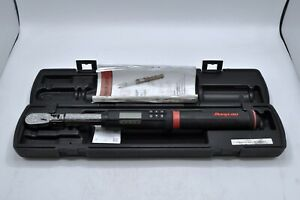 Snap On Techangle 3 8 Dr Electronic Torque Wrench 5 100 Ft lb Atechfr100b