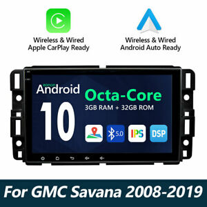 Ga9480a Android 10 Car Video Radio Audio Gps Touch Screen Wifi For Chevrolet Gmc
