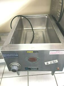 Soup Warmer Wells Stainless Steel 24 X 15 X 8 h Full Size Electric Counter