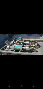 Flow Water Jet Pump Duel Head Design 55 000 Psi 5 Axis Table Also Available