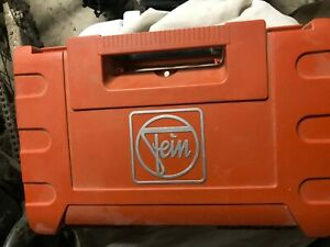 Fein Multimaster Case With Tool That Will Not Power On