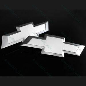 New Front Grill Tailgate Bowtie Emblem For 2015 2018 Chevy Chevrolet Colorado