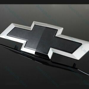 For Chevy Chevrolet 2015 2016 2017 2018 Colorado Black Front Grill Bowtie Emblem