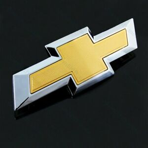 New Rear Trunk Tailgate Bowtie Emblem Gold For 2014 2018 Chevy Chevrolet Impala