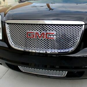 For 2007 2013 Gmc Yukon Yukon Xl 1500 Front Grill Grille Emblem Badge Red