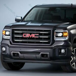 Red Front Grill Grille Emblem Badge For 2014 2018 Gmc Sierra 1500 2500hd 3500hd
