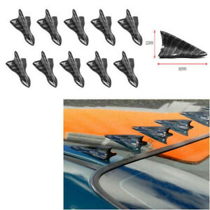 Car Parts Universal Carbon Fiber Sticker Accessories Roof Shark Fin Decorative