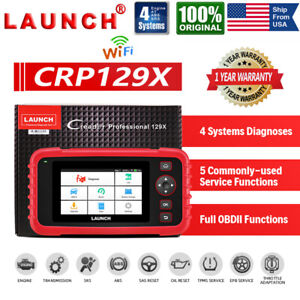 Launch Automotive Obd2 Diagnostic Scanner Obd Code Reader Engine Abs Srs Service