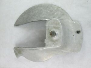 Hobart 1712 Meat Slicer Back Blade Cover Knife Guard Back Replacement Part Used
