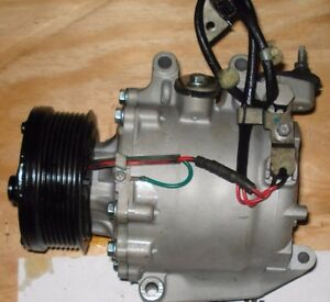 Honda Civic A C Compressor 2006 07 08 09 2010 11 1 8l 4cyl Coupe Sedan Ac 97555