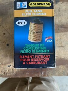 Goldenrod Fuel Tank Filter Element 470 5 New In Box
