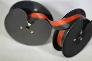 New Royal 440 Typewriter Ribbon On 2 3 8 Spool Black Red Ink Ribbon