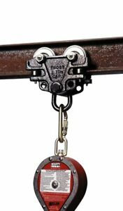 Miller By Honeywell 9065 bk I beam Trolley Fall Protection Anchor Brand New