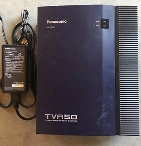 Panasonic Kx tva50 Voice Processing System With Power Cord