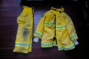 Firefighter Turnout Gear Jacket In Service
