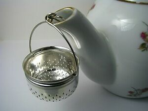 Silver Plated Tea Strainer Teapot Spout Strainer Gorham Mfg Or Derby Co C1900s