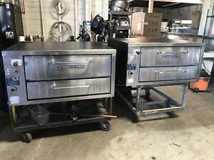 Bakers Pride 251 48 Inch Double Stack Pizza Oven