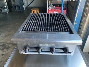 American Range 24 Inch Commercial Charbroiler Reconditioned