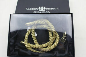 Set Junction Produce Vip Auto Gold Kin Tsuna Rope White Jp Fusa Kiku Knots