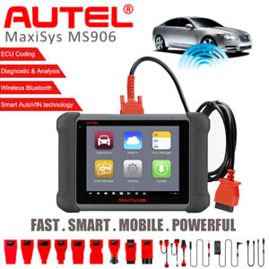 Autel Auto Scanner Maxisys Ms906 Ap200 Full Systems Obd2 Diagnostic Service Tool