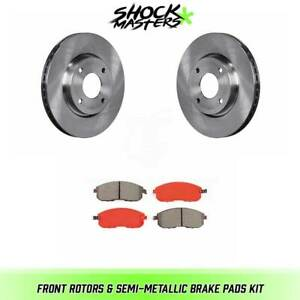 Front Rotors Semi metallic Brake Pads For 2007 2012 Nissan Sentra 2 0l