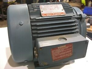 5 Hp Electric Motor Ge 3 Phase 230 460v